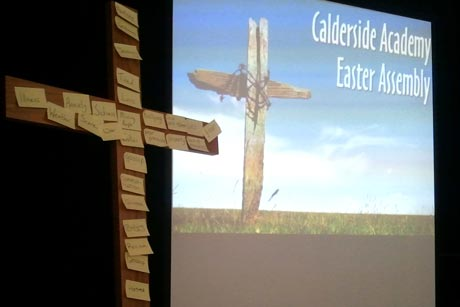 Cross at Calderside Academy