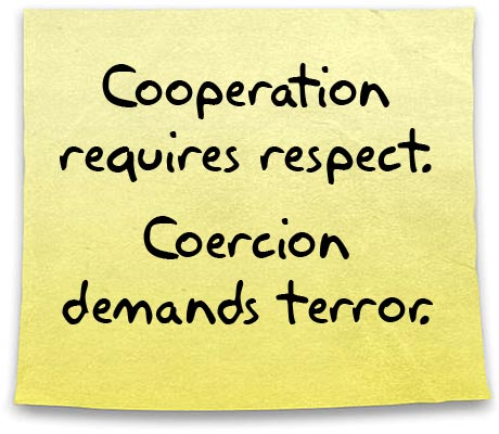 Cooperation or Coercion