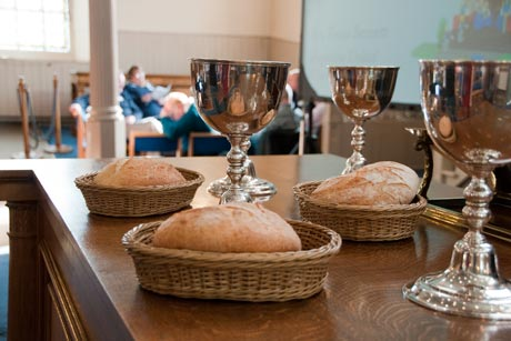 Communion at OneKirk Conference