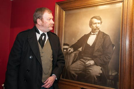 Rev Steve Younger as Livingstone