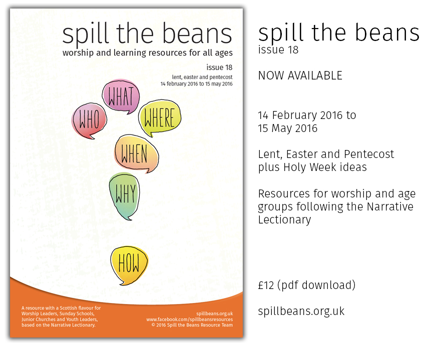 Spill the Beans Issue 18