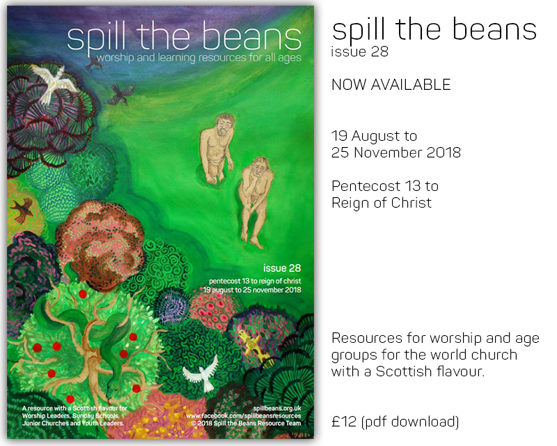 Spill the Beans Issue 28