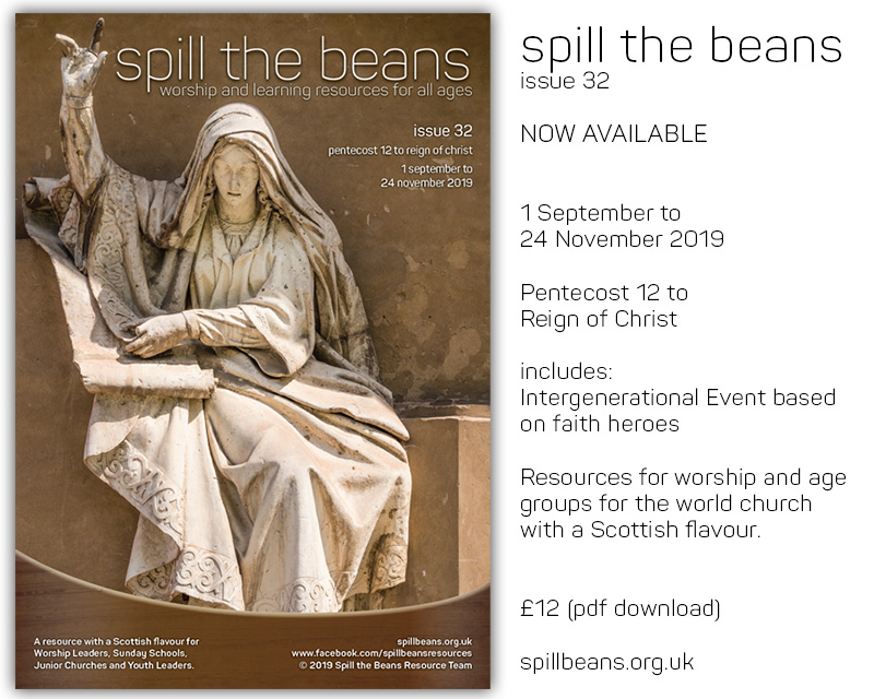 Spill the Beans Issue 32
