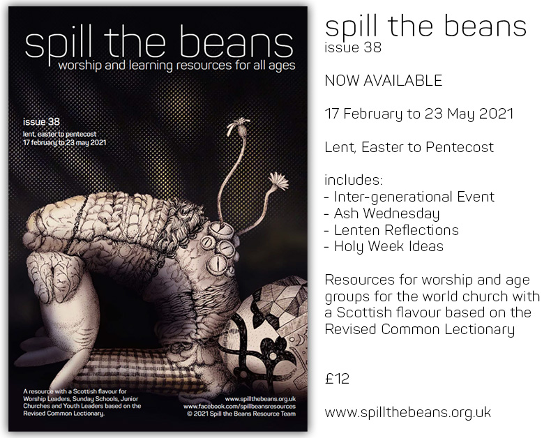 Spill the Beans Issue 38